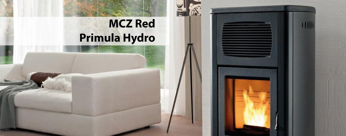 MCZ Red Primula Hydro 21.5 kW